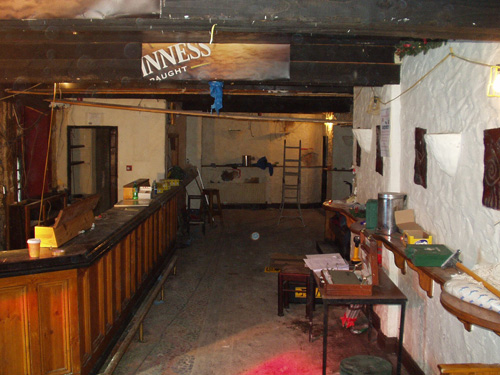 The Brewery Bar Interior, Prior To Works