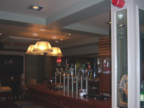 Completed Interior, The Brewery Bar