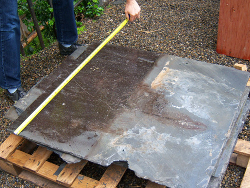 "Original Slates In Excellent Condition (32"" x 36"")"