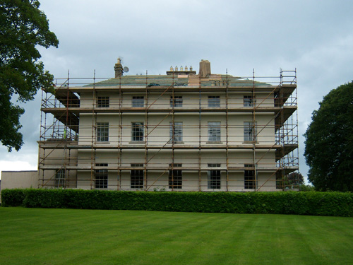 Clarisford Palace During Works