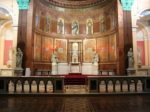 Former Franciscan Church Main Altar