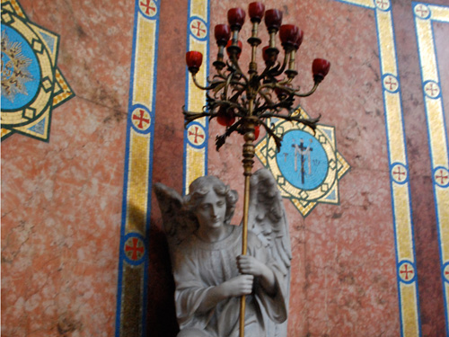 Angel Statues Original Location