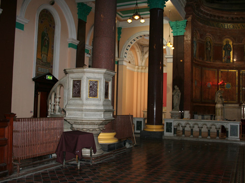 Pulpit Original Location