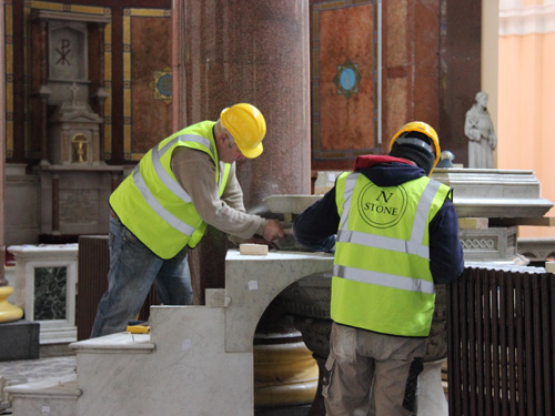 Pulpit Removal