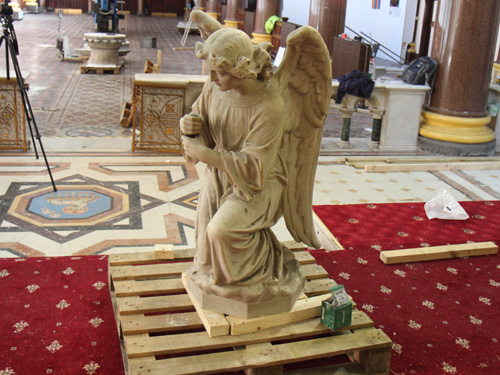 Angel Statue Removed