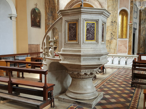 Pulpit New Location