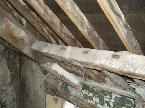 Timber Roof During Works