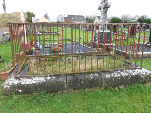 Wrought Iron Grave Surround