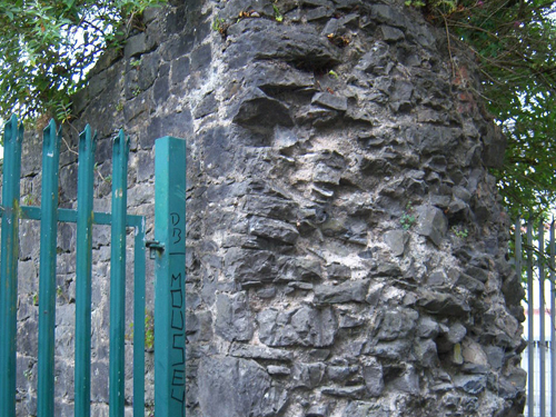 End Of Wall Prior To Repairs