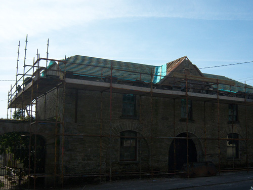 Market House, During Works