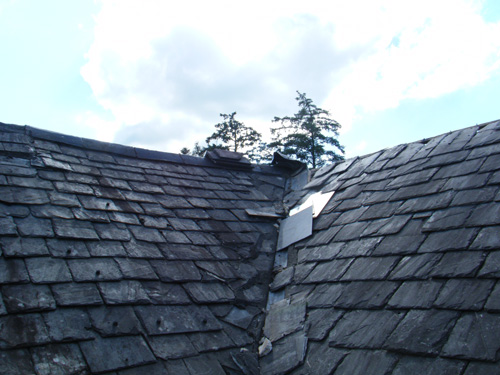 Roof Prior To Works