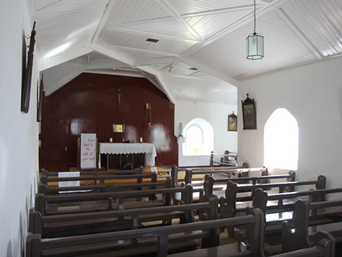 Oatfield Church Interior, Completed Works