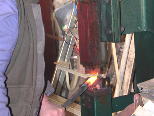 Traditional Iron Working At Linstead's Forge