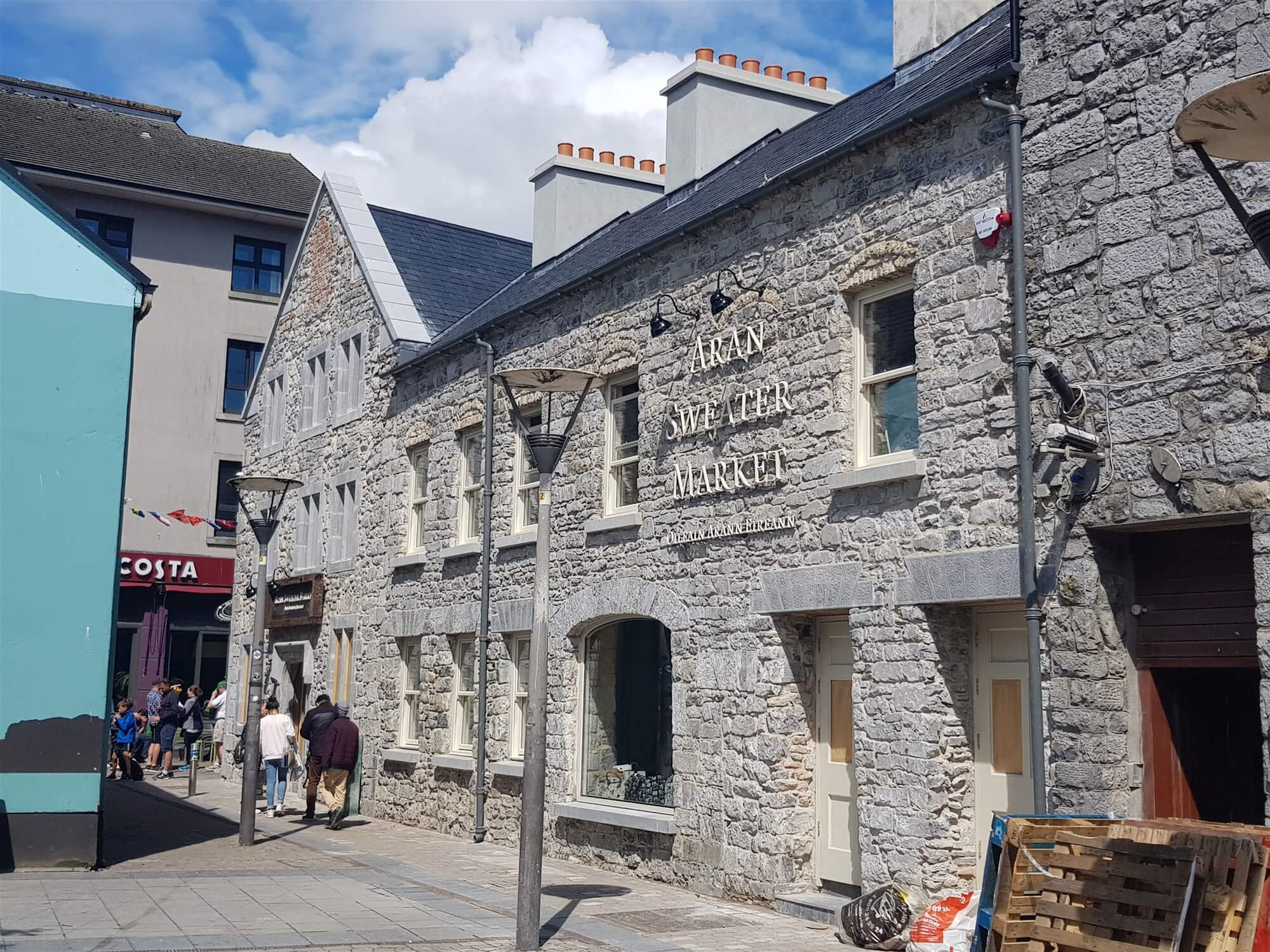 Historic Medieval Derelict Site in Galway City Centre is Sensitively Restored