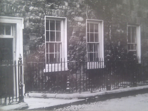 Old Photograph Of Front Entrance