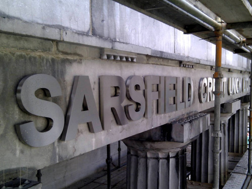 Sarsfield Credit Union During Works