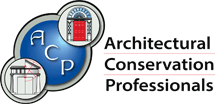 Architectural Conservation Professionals - Specialist Architectural Conservation Consultants